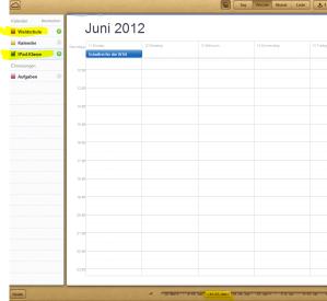 Auszug Kalenderblatt